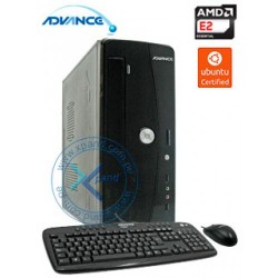 Computadora Advance Vission Open VO4346, AMD E-2100 1.0GHz, 2GB DDR3, 500GB SATA.DVD SuperMulti