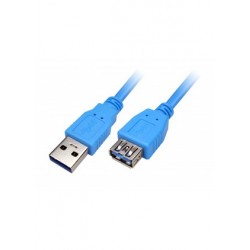 Cable USB 3.0 Xtech, XTC-353, USB 3.0 extension A-male to A-female, 1.83 mts