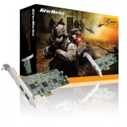 CAPTURADOR DE VIDEO AVERMEDIA MOD.DARKCRYSTAL HD CAPTURE PRO PCI-E