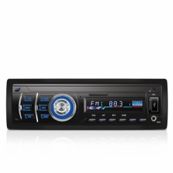 AutoRadio Newton NINJA NEH-5000 - FM/AM, SD, USB, Control Remoto, Panel Extraible, Display