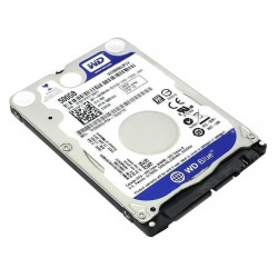 "Disco duro Western Digital Blue, 500GB, SATA 6.0 Gb/s, 5400 RPM, 2.5""."
