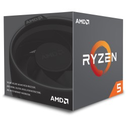 Microprocesador AMD Ryzen 5, 1600, 3.4GHz, Hexa Core, Socket AM4