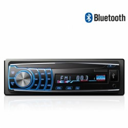 Autoradio Newton VIPER NEH-5250BT - Bluetooth, FM/AM, SD, USB, Control Remoto, Panel Extraible, Display