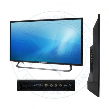 "Televisor Advance ADV32L91F, 32"", HD, 1360 x 768. HDMI / USB / VGA / AV / Salida de audio."