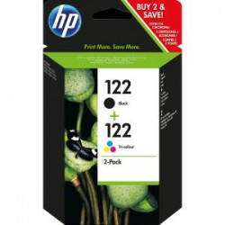 Cartucho doble HP 122 BLACK, TWININK, CARTRIDGE