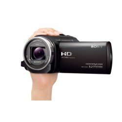 "Filmadora Sony Handycam HDR-CX240, Full HD, 9.2 MP, zoom 27x, LCD 2.7""."