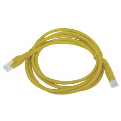 Tripp-Lite Cable Patch Moldeado Snagless Cat6 Gigabit (RJ45 M/M), amarillo, de 0.91m.