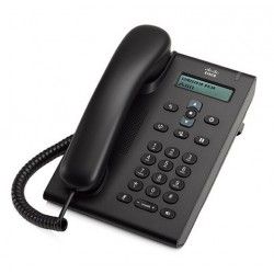 Telefono IP Cisco Unified SIP Phone 3905, POE,  Charcoal