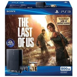 PlayStation 3, 500GB, THE LAST OF US