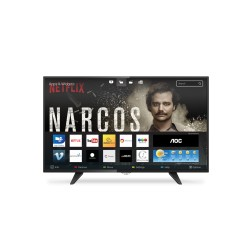 "Televisor Smart AOC LE49S5970 de 49"", LED Full HD, HDMI, RJ45, USB 2.0, FHD 1920x1080"