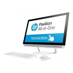 "All in One HP Pavilion 24-b209la, Core i5 7400T  2.4 GHz, 23.8"" Touch, RAM 8 GB, HDD 2 TB, DVD, HD Graphics 630, Win 10"