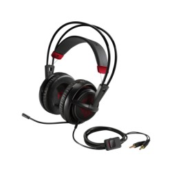 Auricular Gamer OMEN by HP Headset with SteelSerie, X7Z95AA, Single 3.5mm Adapter, 4-pole plug