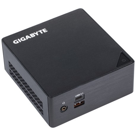 "Mini Barebone Gigabyte Brix GB-BKi3HA-7100, Intel Core i3-7100U 2.40GHz, DDR4, USB 3.1. DDR4, 2.5"" SATA 6GB/s, Intel HD, Wifi"