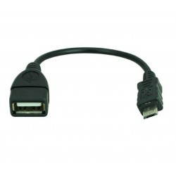 Cable micro USB OTG a USB 2.0.