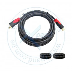 Cable HDMI de alta velocidad con Ethernet, compatible con 3D y audio Return Channel, 3 mts
