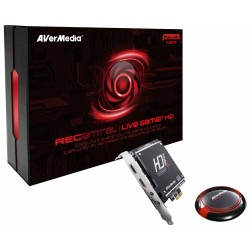 CAPTURADOR DE VIDEO AVERMEDIA C985 STREAMER LIVE GAMER RMA