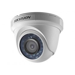 Cámara CCTV cúpula Hikvision HD1080P Indoor IR Turret Camera DS-2CE56D0T-IRPF, color (Día y noche), 2 MP, 1080p