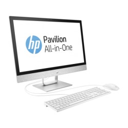"AIO HP Pavilion 24-r010la, Core i5 7400T 2.4 GHz, RAM 8 GB, HDD 2 TB, DVD, Radeon 530, Win 10 Home 64 bit,  LED 23.8"" Touch"